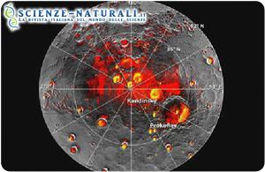 Scoperti acqua e ghiaccio su Mercurio