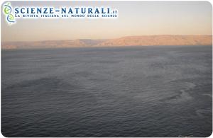 Enigmatica struttura nel Mare di Galilea