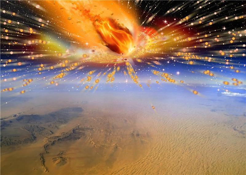 Ecco la prova che una cometa colpì la Terra 28 milioni di anni fa