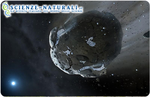 Scoperto un asteroide roccioso extrasolare ricco di acqua