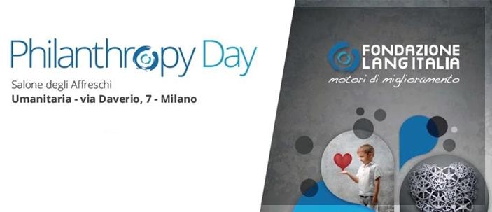 Convegno sulla filantropia a Milano