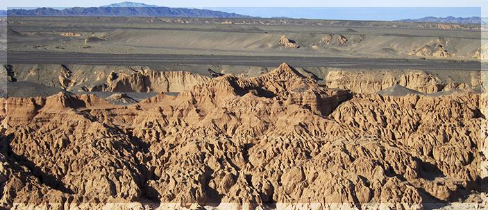 L'aridità del clima in Asia centrale causata dall'orogenesi