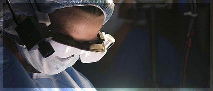 Cancro: nuovo intervento con occhiali infrarossi ad alta tecnologia