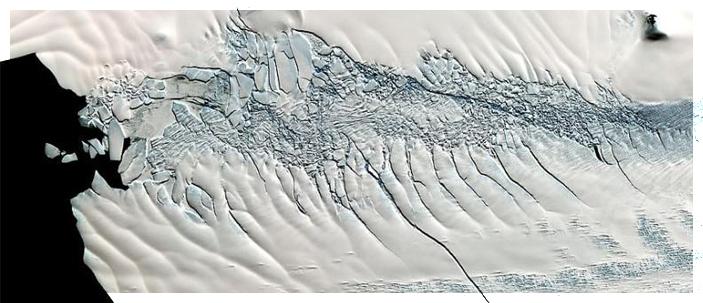 Aumenta la fusione di ghiaccio in Antartide