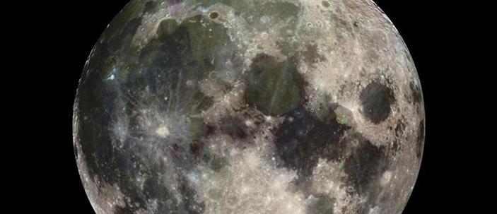 La Luna formata dalla collisione tra la Terra e un pianeta