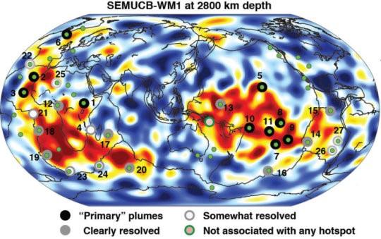"""La prima """"TAC"""" della Terra ci spiega le origine e gli sviluppi del vulcanesimo"""