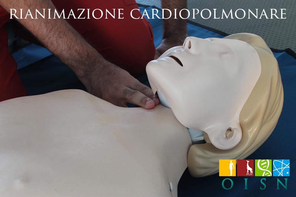 Sostieni la vita con città cardioprotetta OISN, mini-corso online di rianimazione cardiopolmonare